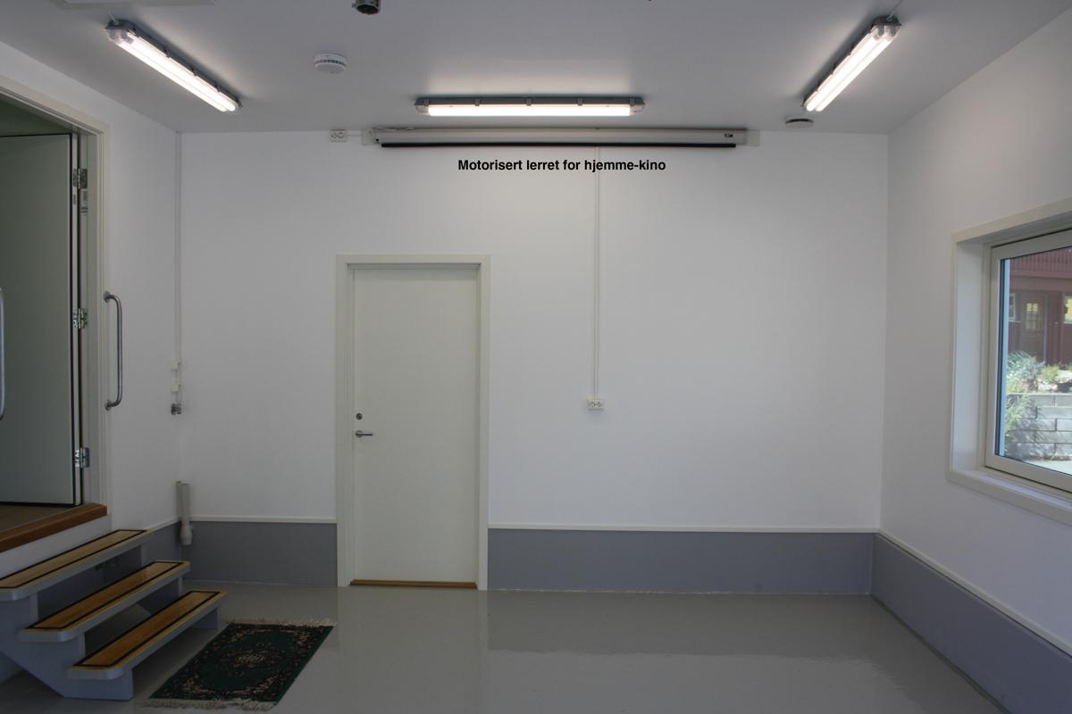 Detalj garasje