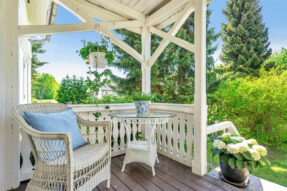 Hyggelig veranda