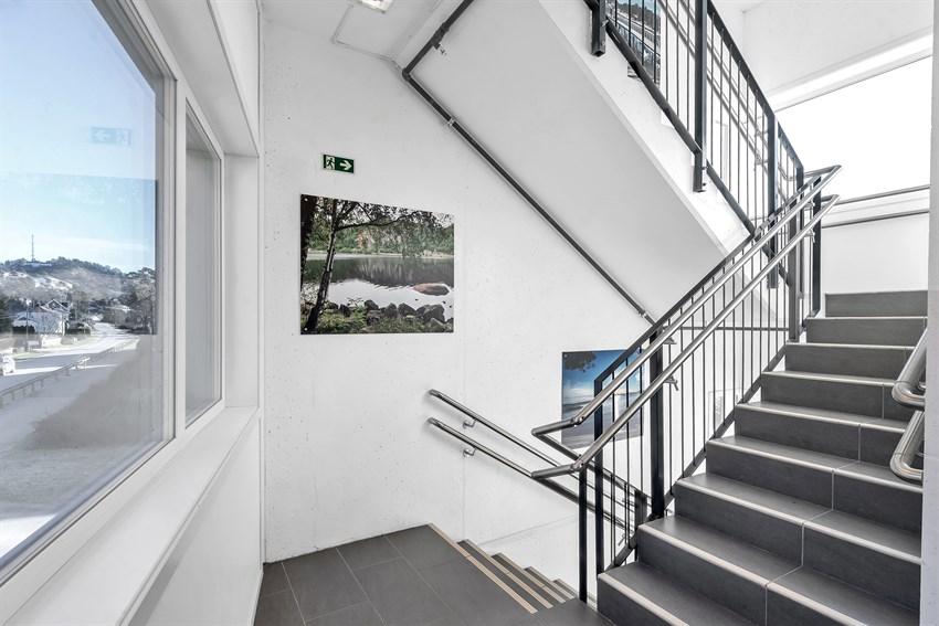 Felles trappegang med flotte Mandalsbilder