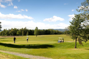 Fra 9- hulls golfbane og korthullsbane på Grøtvedt