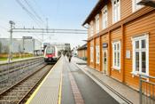 Miljøbilder fra Spydeberg sentrum