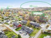 Boligen ligger i et attraktivt og sentrumsnært boligområde med nærhet til skoler, marka og daglige servicetilbud.