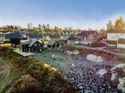 Tomten ligger i et rolig, familievennlig og landlig boligområde i Hølen i Vestby kommune.