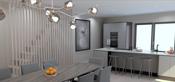 Forslag til kjøkken 1: Det medfølger kjøkken inntil kr. 180.000,-.