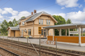 Lørenskog togstasjon.