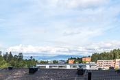 Fra terrassen er det fin utsikt mot Oslofjorden!