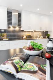 Kun illustrasjon - Detalj kjøkkenbilde