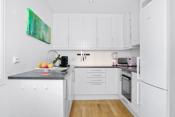 Kjøkken med praktisk innredning i u-form