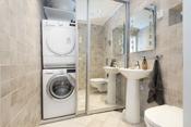 Vaskerom med wc - 1.etasje.