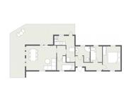 Floorplan letterhead - Ødegårdveien 100 - 1. Etasje - 2D Floor Plan