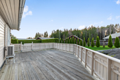 Kun noen få meter til friområder ved populære Høytorp Fort med turområder og lysløype.
