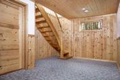 Trappegang med varme i gulvet