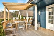 Terrasse med tilgang fra stue