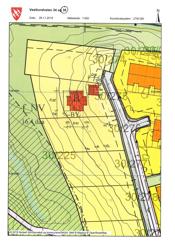 Situasjonskart plassering hus og garasje Vestlundveien 36