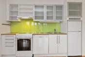 Lys kjøkkeninnredning