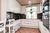 Kjøkkenet er oppgradert med hvitevarer i tidsrommet 2015-2020