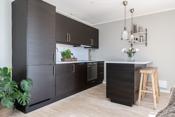 Hyggelig spiseplass på kjøkkenøy
