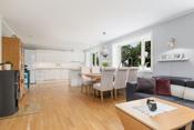 Store oppholdsrom stue og kjøkken