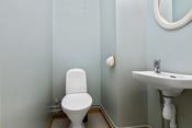 Separat rom med toalett