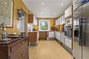 Kjøkkenet med Unoform innredning - godt med skapplass