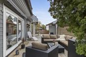 Terrasse/platting med god tunfølelse