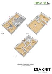 3D plantegning (illustrajson - avvik kan forekomme) alle etasjer