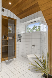 Badstue i tilknytning til badet