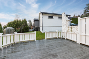 Terrasse med direkte adgang til hage - utleie