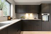 Kjøkkenet - godt med skapplass