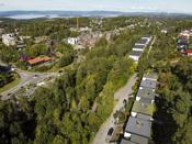 Oslofjorden i bakgrunnen