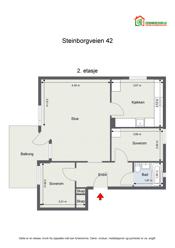 2D plan - Takstmann