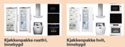 illustrasjon - Kjøkkenpakke forslag