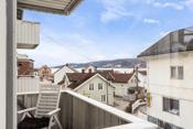 Hyggelig fjordgløtt fra balkongen