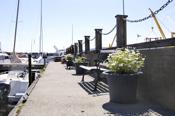 Detaljbilde fra havnen i sentrum