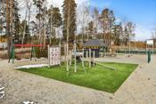 Nye lekeplass på andre siden av veien ved Askimbyen skole