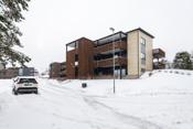 Fasade - Boligen ligger fint til på Himmelberget på Gressvik.