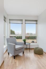 Mulighet for flere sittegupper i stuen