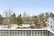 Utsikt fra verandaen