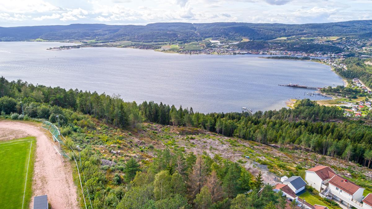 Nærhet til sjøen og flotte tur og friluftsområder rett i nærområdet.