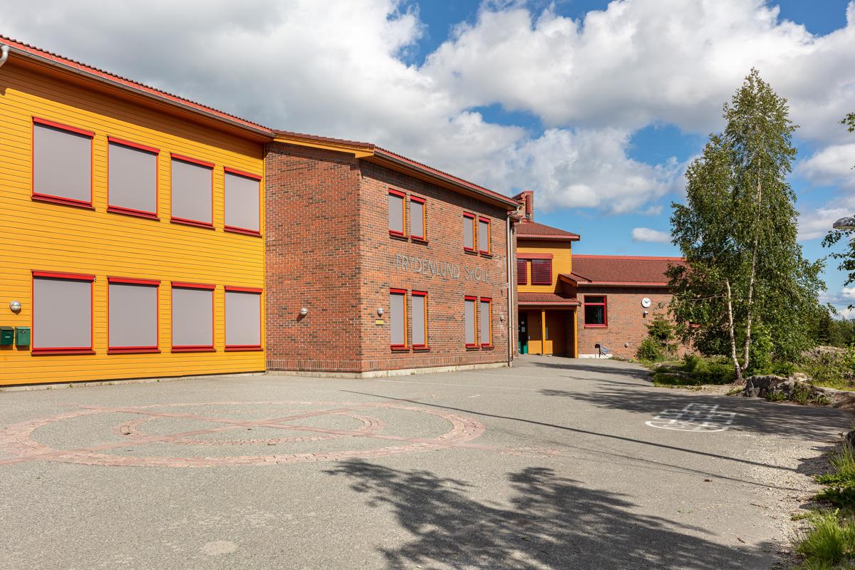 Frydenlund barneskole, samt barnehage