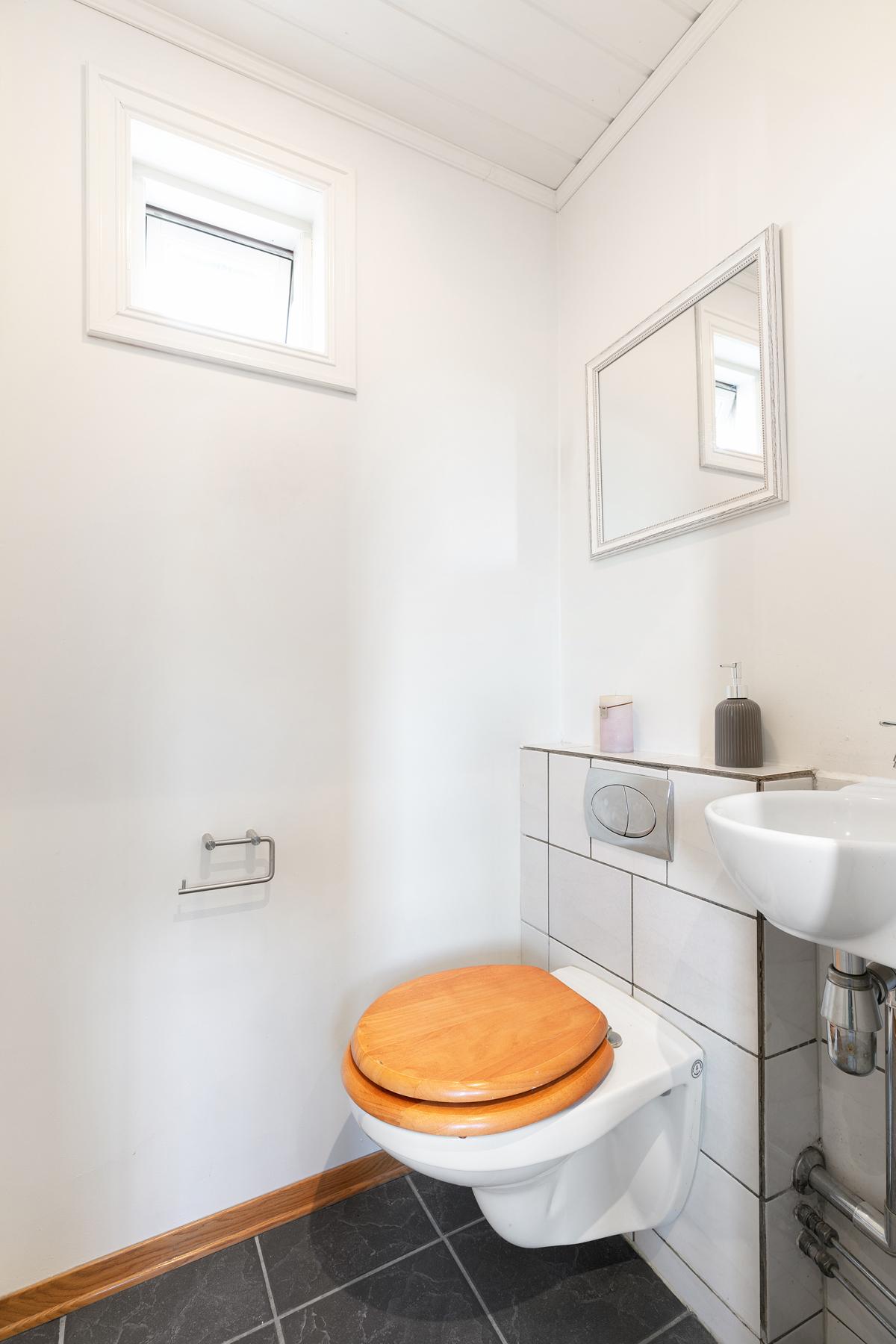Toalett i hall