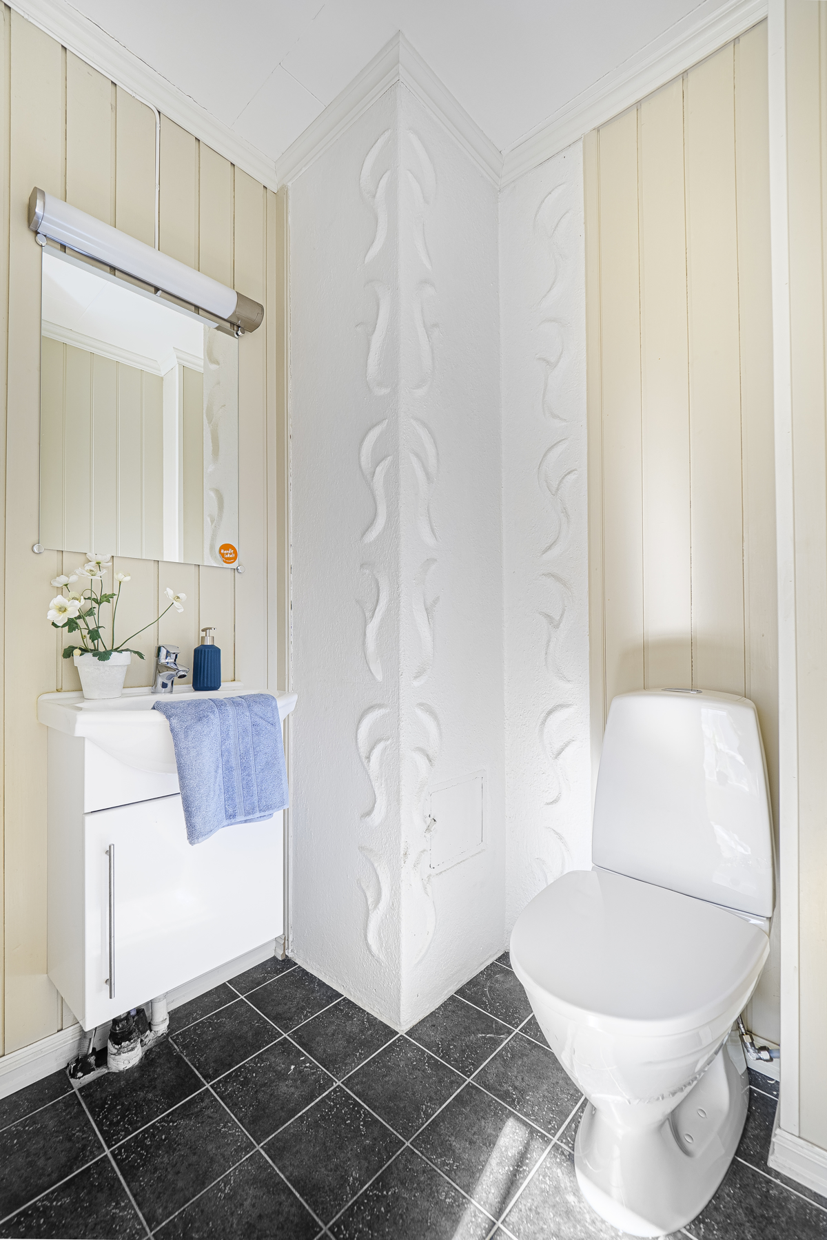Toalett i tilknyttning til soverom