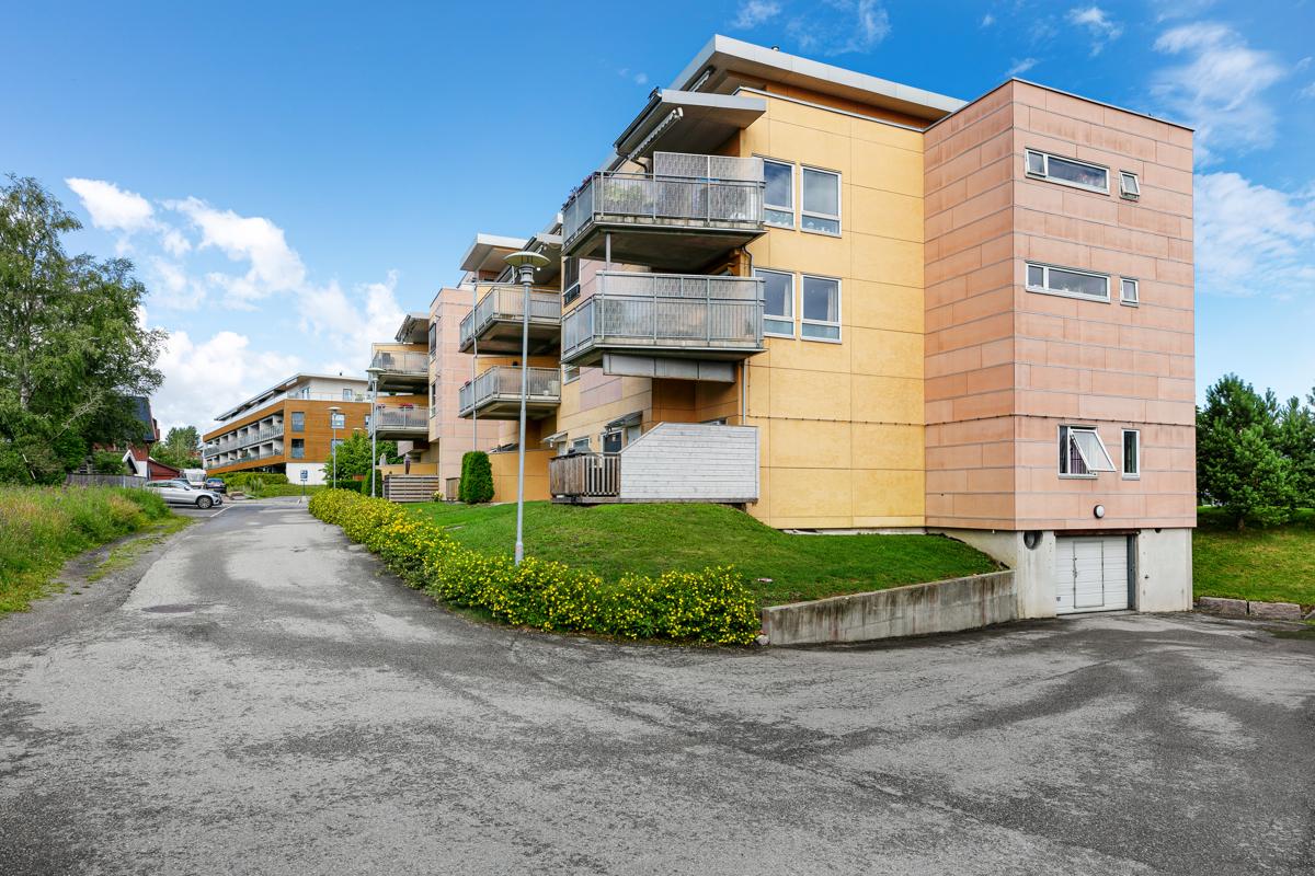 Fasade leilighetskomplekset.