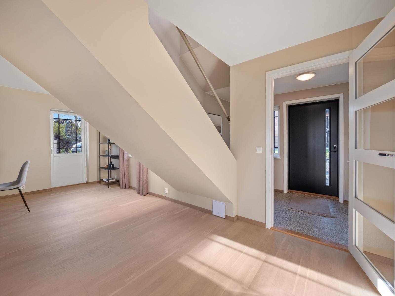 Inngang til stuen