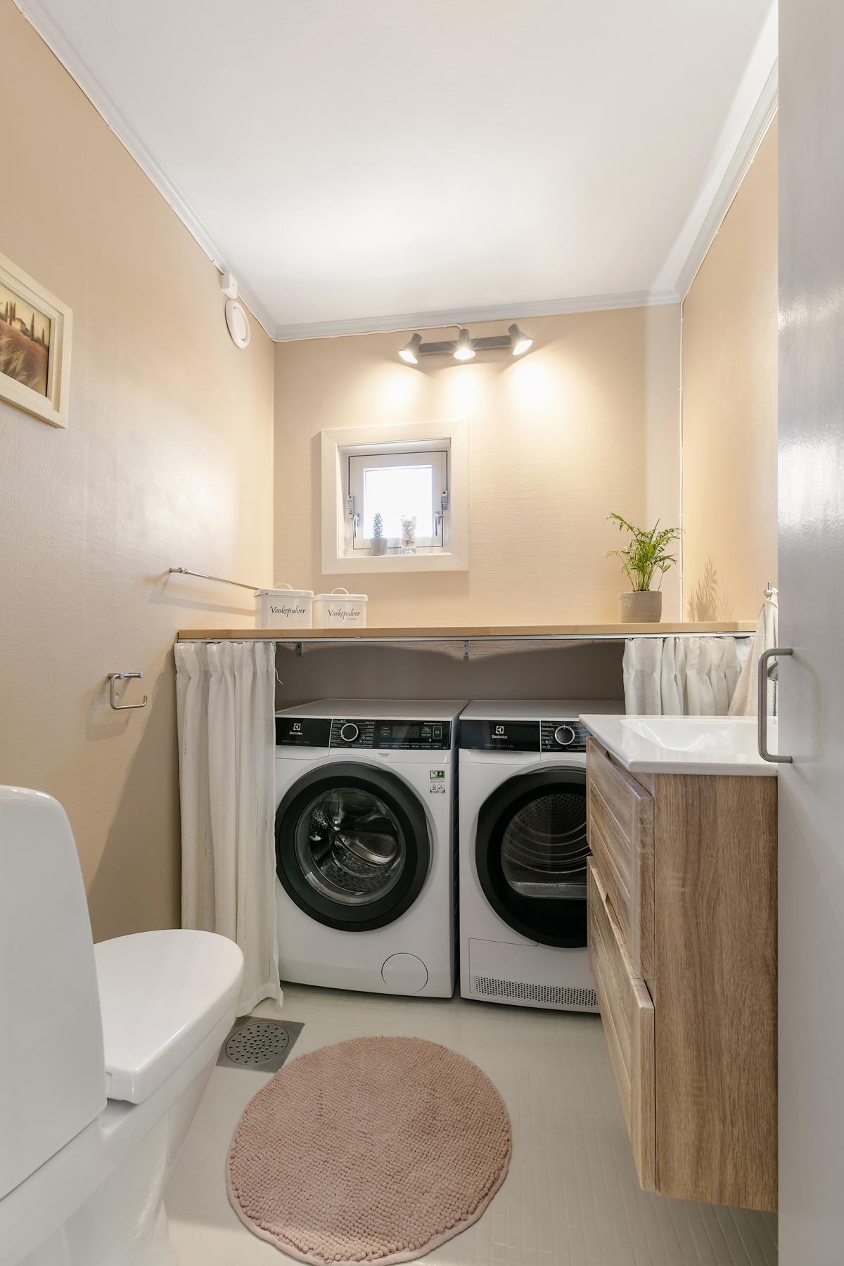 Ekstra toalettrom/vaskerom