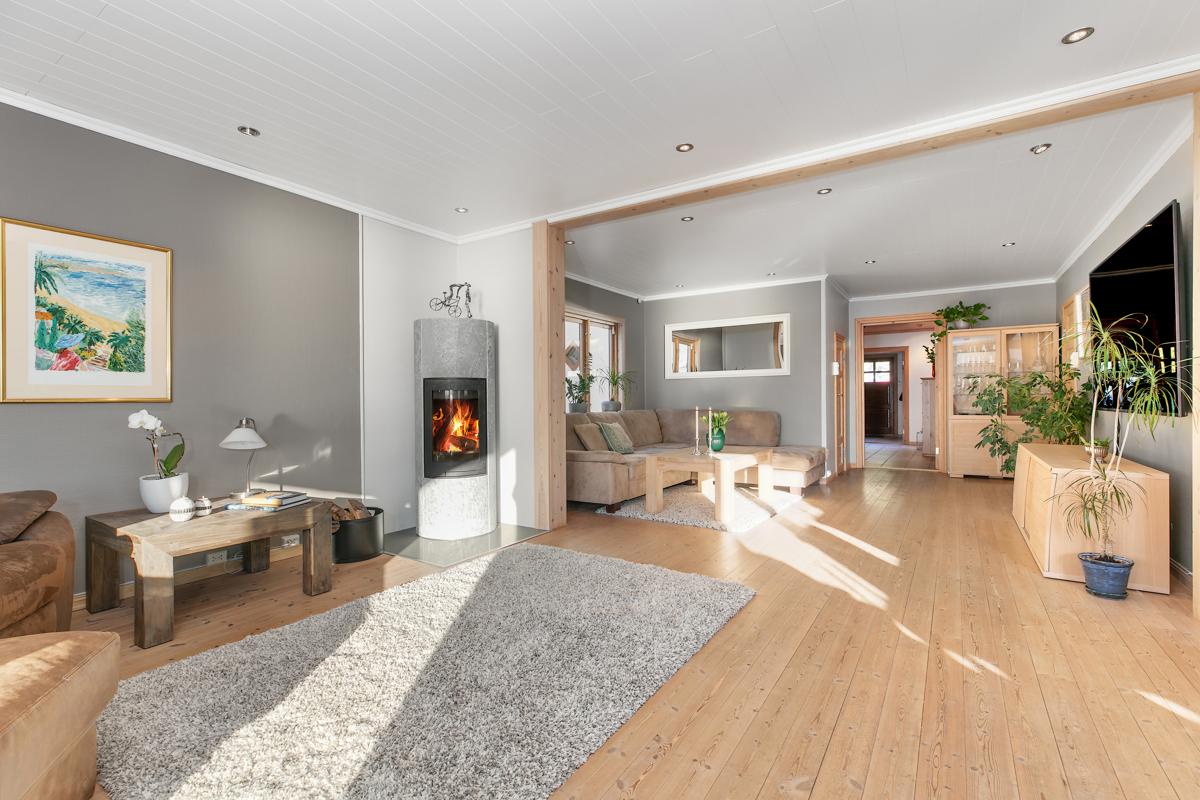 Lys og fin stue