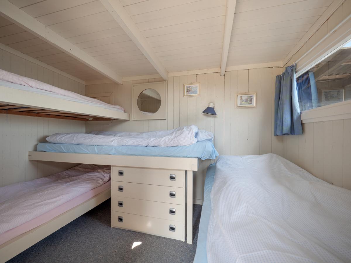 Innredet rom med 4 sengeplasser