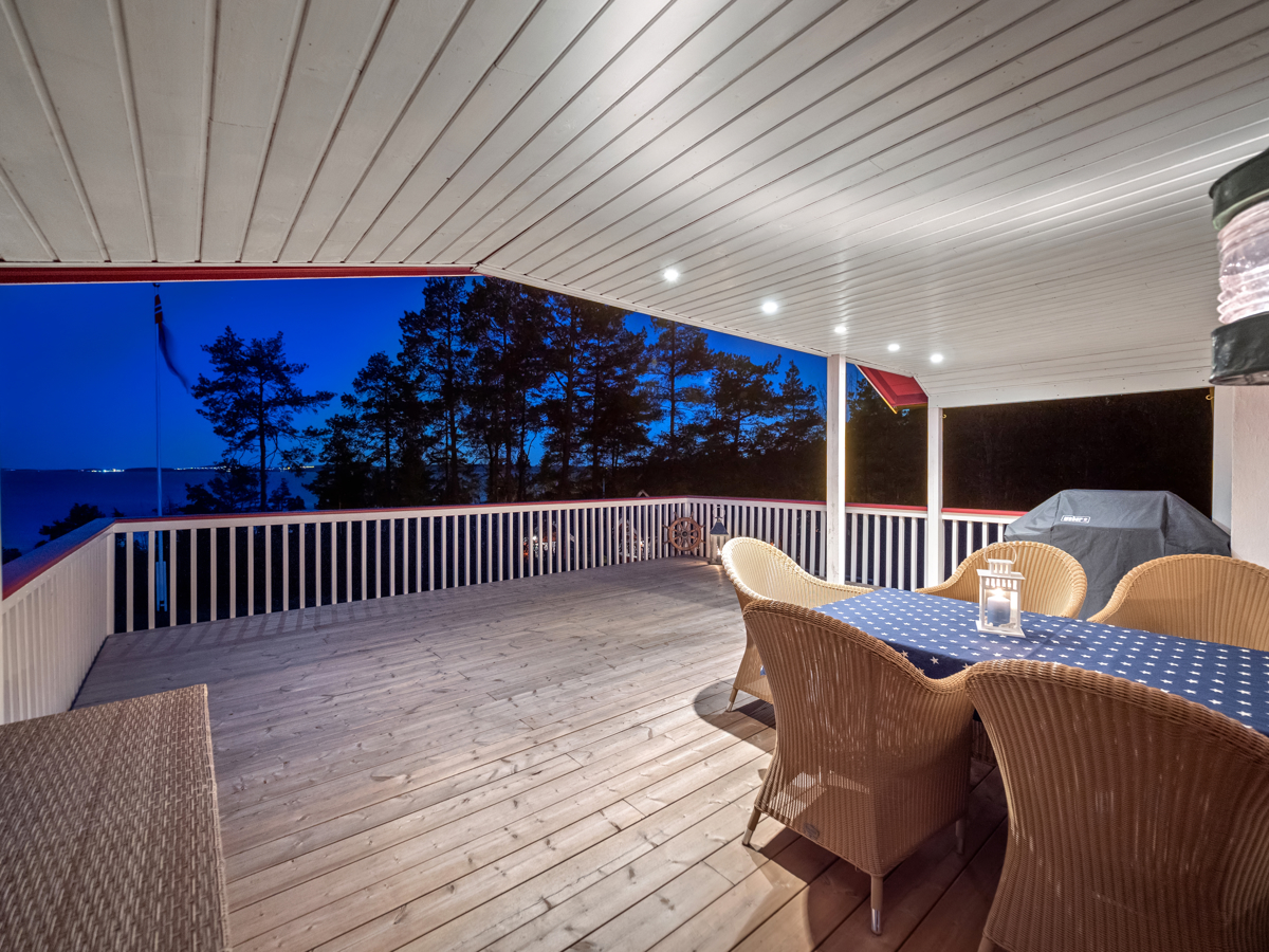 Terrassen kveldstid