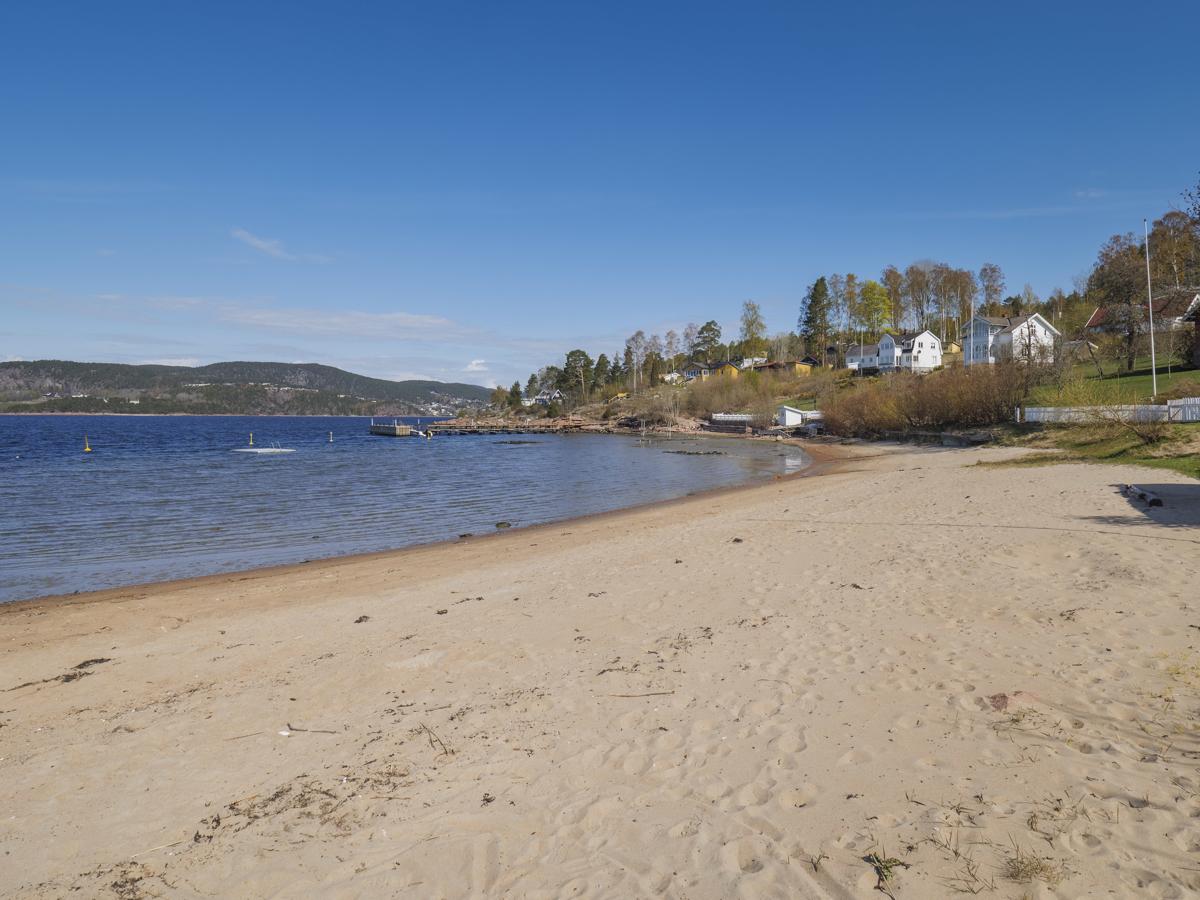 Få minutters gange ned til stranden