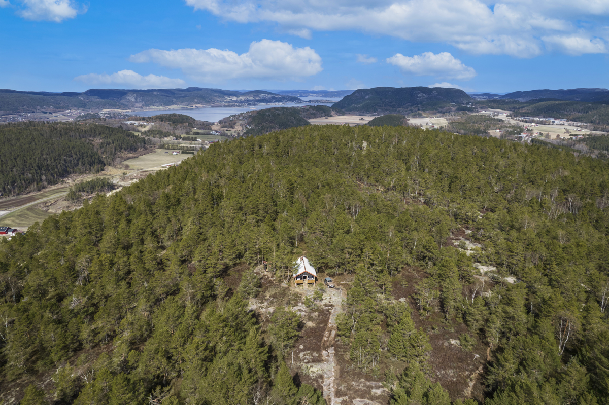 Haraldsfjellet ligger som en høyde med mange flotte turmuligheter i skogen, og ned mot sjøen og kyststien